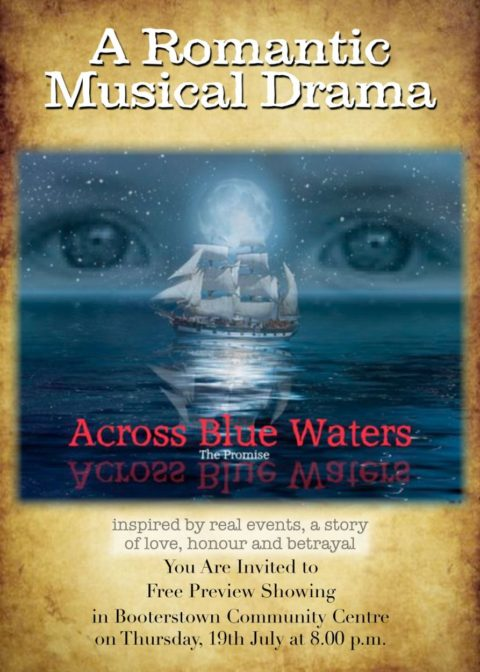 A Romantic Musical Drama – Across Blue Waters – directed by Conor O'Malley